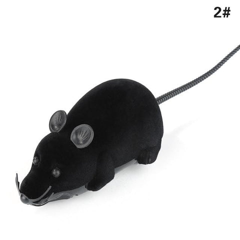 Uptown Vibez Black black ears / M / CHINA Wireless Remote-controlled Toy Mouse