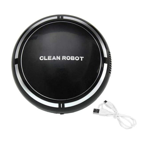 Uptown Vibez Black / CHINA Automatic USB Rechargeable Smart Robot Vacuum Floor Cleaner Sweeping Suction Household Low Noise Dust Collector