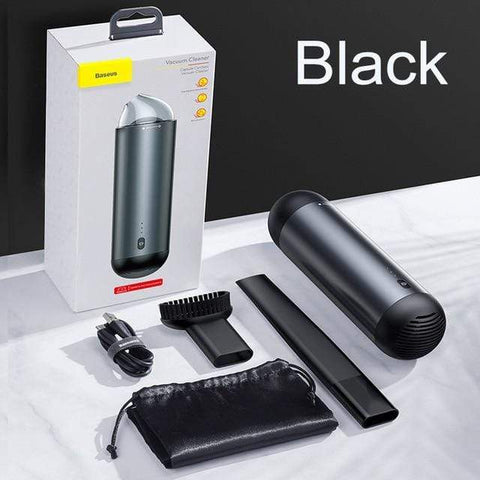 Uptown Vibez black / United States Portable Car Vacuum Cleaner - Wireless