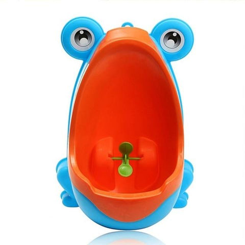 Uptown Vibez Blue / China Frog Potty Training Urinal