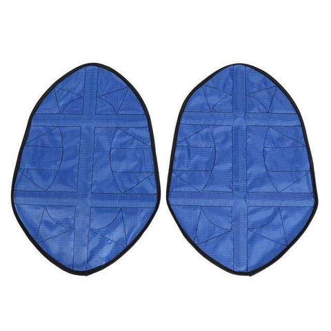 Uptown Vibez Blue Step In Shoe Covers