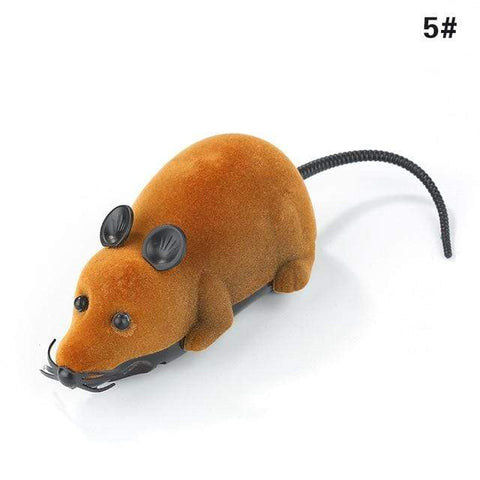 Uptown Vibez Brown black ears / M / CHINA Wireless Remote-controlled Toy Mouse