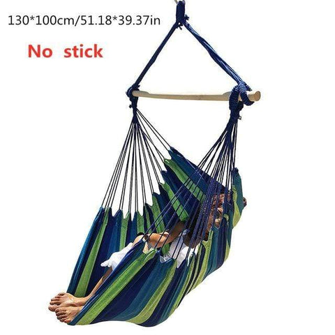 Uptown Vibez China / Blue Hammock Swing Chair