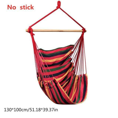 Uptown Vibez China / Red Hammock Swing Chair