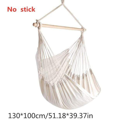 Uptown Vibez China / White Hammock Swing Chair