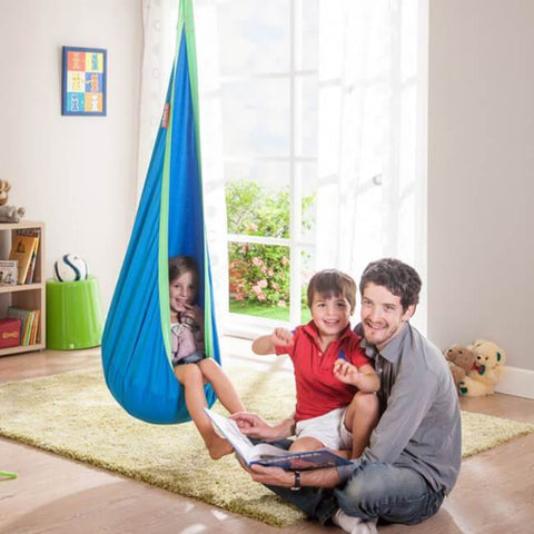 Uptown Vibez Cotton Child Hammock Chair | Hanging Pod Swing Seat