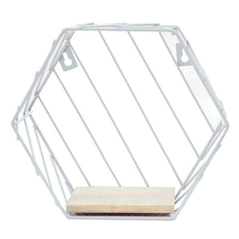 Uptown Vibez D Iron Hexagonal Storage Shelf