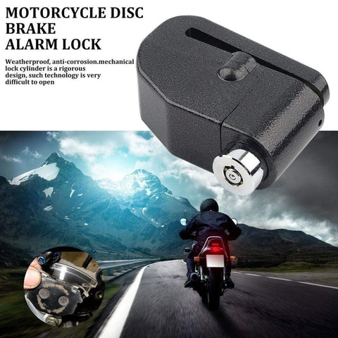 Uptown Vibez Disc Brake Motorcycle Lock Alarm