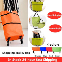 Uptown Vibez Eco-Friendly Shopping Trolley Tote Bag