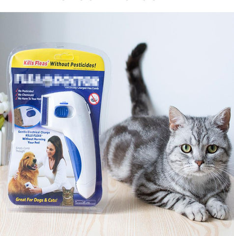 Uptown Vibez Electric Flea Remover for Pets