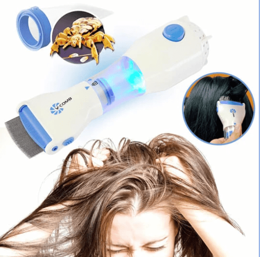 Uptown Vibez Electric Lice Removal Comb