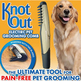 Uptown Vibez Electric Pet Groomming Comb
