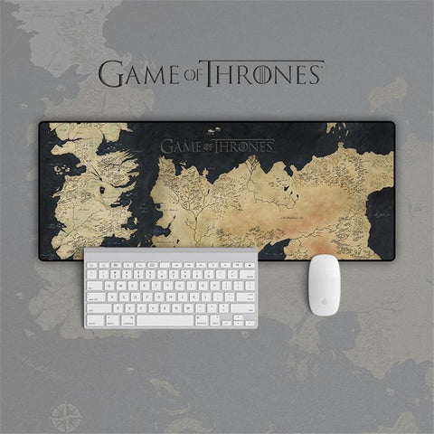 Limitlessproduct Game of Thrones Westeros Map  Mouse Pad