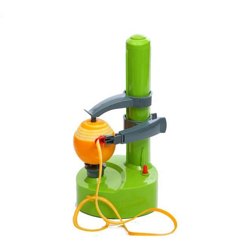 Uptown Vibez Green Automatic Electric Peeler
