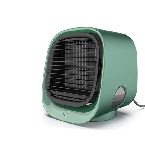Uptown Vibez Green / CHINA Portable Air Conditioner, Room Cooler Indoor Personal Air Conditioner Countertop Mini AC Unit
