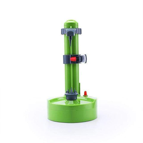 Uptown Vibez Green Stainless Steel Electric Peeler