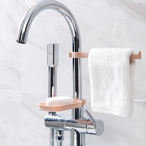 Uptown Vibez Hanging Storage Rack and Soap Holder