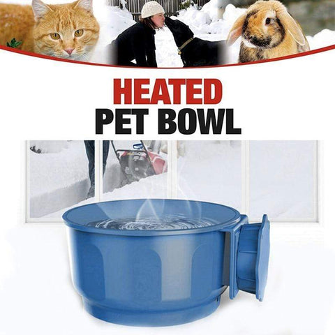 Uptown Vibez Heated Pet Bowl