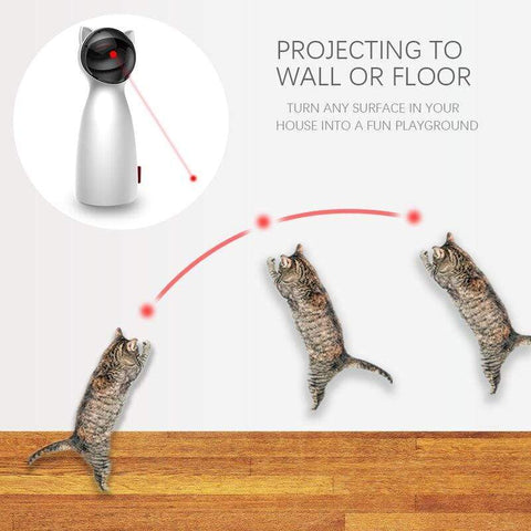 Uptown Vibez Invigorating Cat Laser Toy