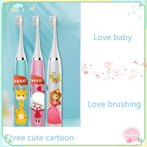 Uptown Vibez Kids Ultrasonic Toothbrush