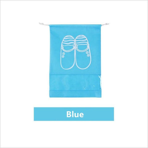 Uptown Vibez L / 03 Sky blue Shoes Organizer Bag for Travel