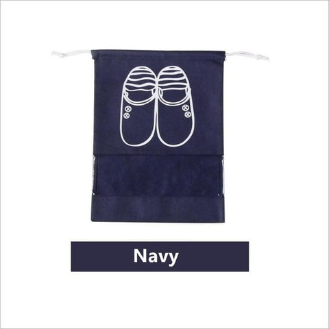 Uptown Vibez L / 04 Navy Shoes Organizer Bag for Travel