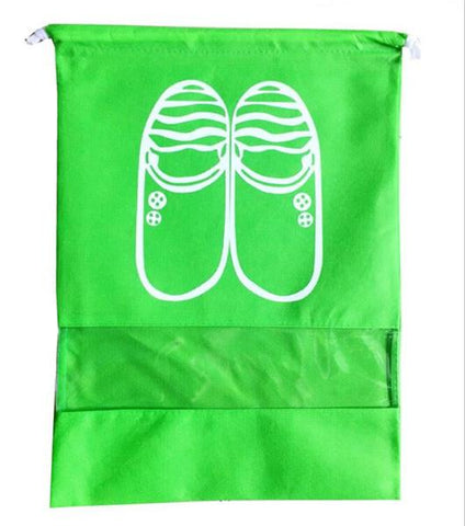 Uptown Vibez L / 05 Green Shoes Organizer Bag for Travel