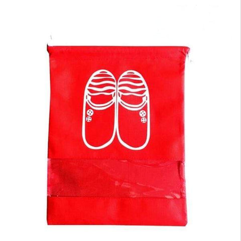 Uptown Vibez L / 06 Red Shoes Organizer Bag for Travel