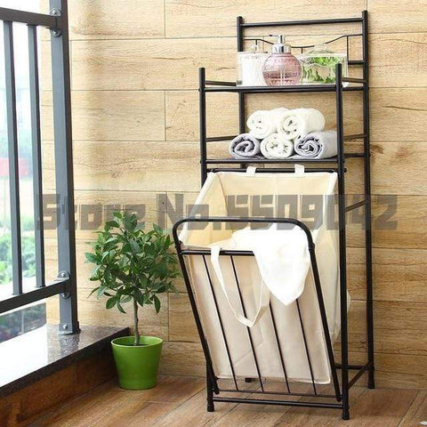 Uptown Vibez L / a2 Laundry Shelves & Basket