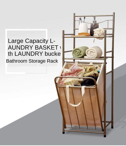 Uptown Vibez Laundry Shelves & Basket