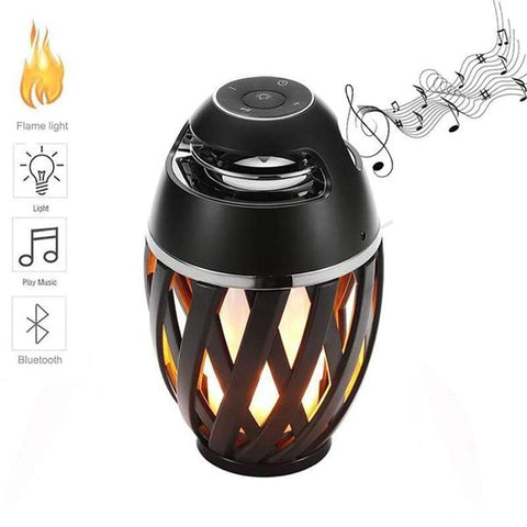 Uptown Vibez LED Flame Lights Bluetooth Speaker