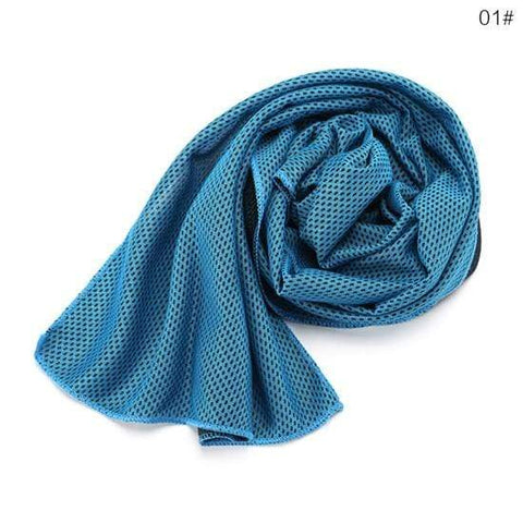 Uptown Vibez light blue Instant Cooling Towel