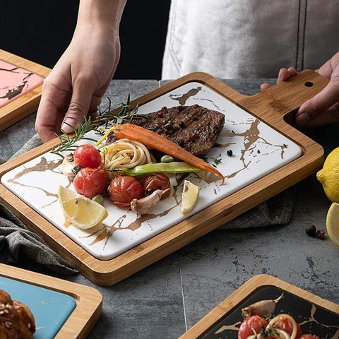 Uptown Vibez Marble Cutting Board