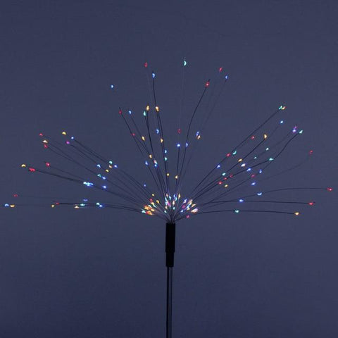 Uptown Vibez Multicolor / China / 150 LED - 50 Strings Firework Solar Lamp