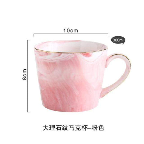 Uptown Vibez pink colour Marvelous Mug