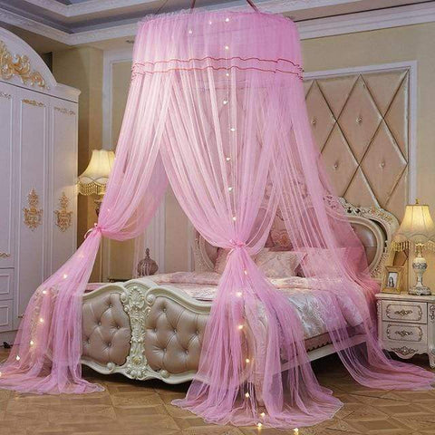 Uptown Vibez pink / Universal Luxury Bed Canopy