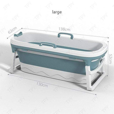 Uptown Vibez Portable Adult Folding Bathtub