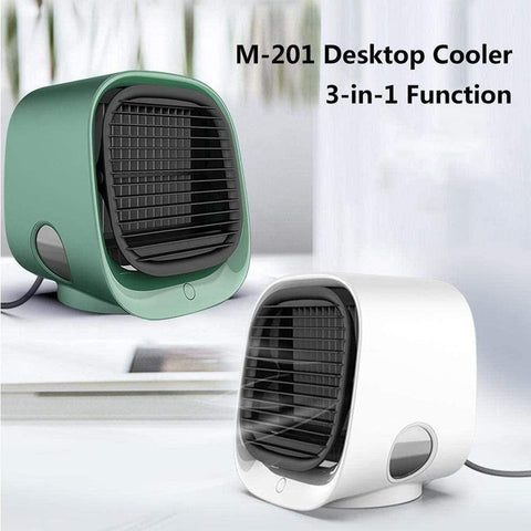 Uptown Vibez Portable Air Conditioner, Room Cooler Indoor Personal Air Conditioner Countertop Mini AC Unit