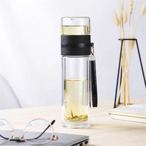 Uptown Vibez Portable Glass Tea Infuser