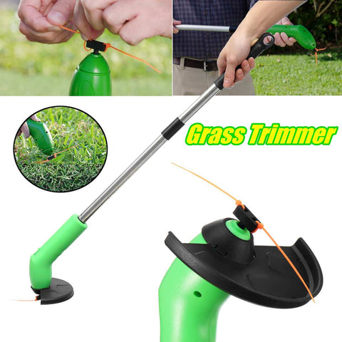 Uptown Vibez PORTABLE GRASS TRIMMER CORDLESS LAWN WEED CUTTER EDGER BIONIC TRIMMER