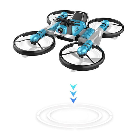 Uptown Vibez Quadcopter Motorcycle RC Drone Camera