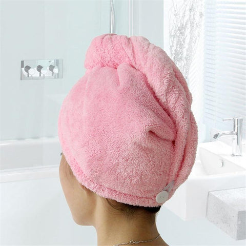 Uptown Vibez Quick Drying Hair Towel