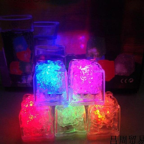 Uptown Vibez Quick flashing Water Activated LED Ice Cubes