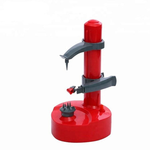 Uptown Vibez Red Automatic Electric Peeler