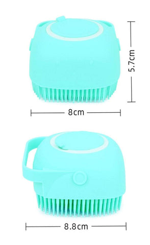 Uptown Vibez Silicone Bath Massage Soft Brush