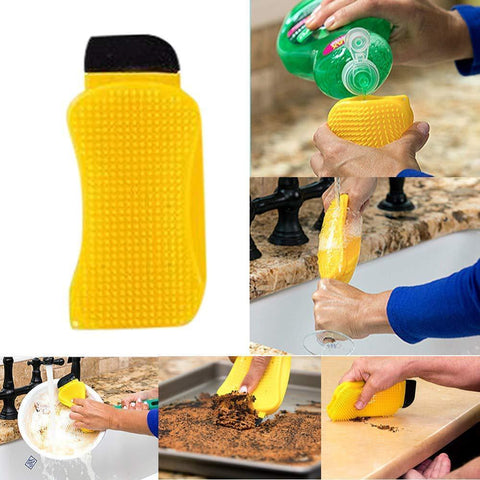 Uptown Vibez Silicone Cleaning Brush Scrub