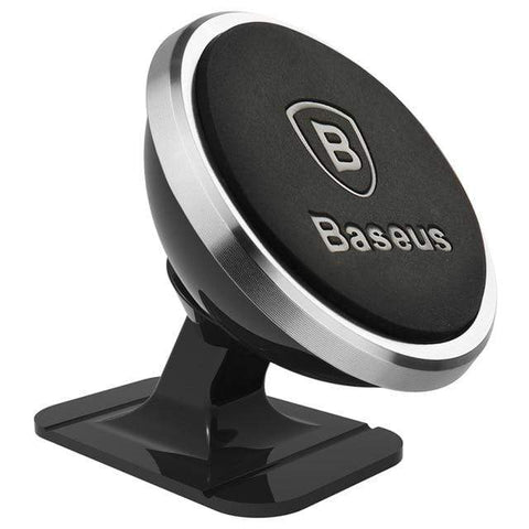 Uptown Vibez SILVER Paste Type Magnetic Car Mount Phone Holder