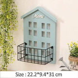 Uptown Vibez Sky Blue Home Wall Shelf