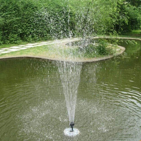 uptown vibez Solar Powered Fountain Garden Sprinkler