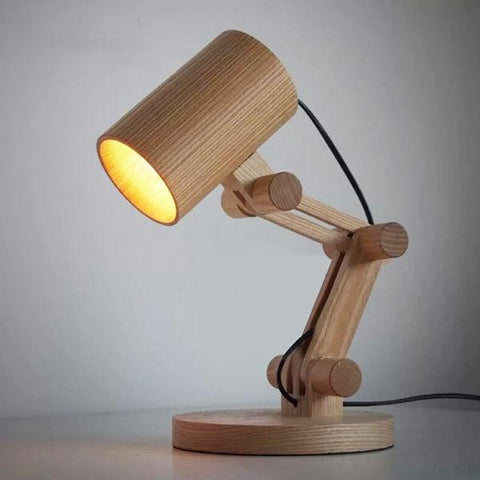 Uptown Vibez Style A Horsten Design Wooden Table Lamp